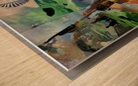 Imaginary World Wood print