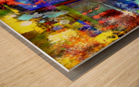 Modern Trendy Abstract Art Wood print