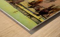 Bridge by Van Gogh Wood print