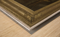 Le chevreuil Impression sur bois
