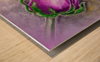 Dreamy Rose Wood print
