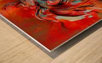 The Betta Tango Wood print