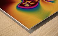 Inception Wood print