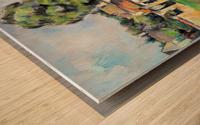 Cezanne - Banks of the Marne Wood print