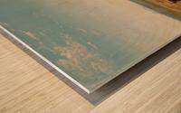 Oriental landscape Wood print