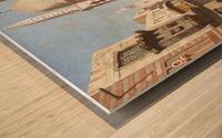 Al-Khudayri street, Cairo Wood print