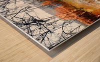 Les saisons Wood print