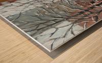 Le Plateau Mont Royal Wood print