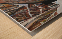 Shabbat Outremont Lane Wood print