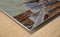 Charlottetown PEI Wood print