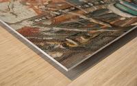Shabbat Wood print
