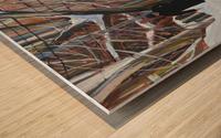Outremont Lane Shabbat Wood print