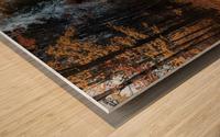 Tapis de feuille Wood print