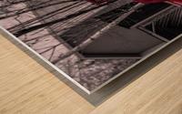 Contraste Wood print