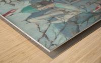 McGill University  Wood print