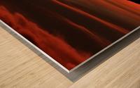 SkyFire Impression sur bois