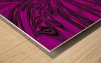 Purple Desert Song 8 Wood print