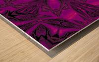 Purple Desert Song 16 Wood print