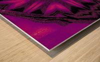 Purple Desert Song 22 Wood print