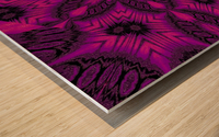 Purple Desert Song 41 Wood print