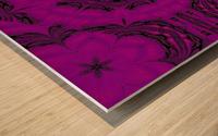 Purple Desert Song 48 Wood print
