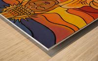 United Light Wood print