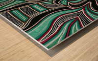 Synergy Triptych Left panel Wood print