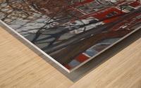 Lorn Avenue McGill Ghetto Wood print