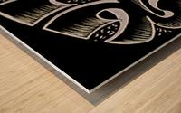 monogram ART   YIMTZA AA Wood print