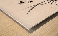 Chinese Iris Wood print