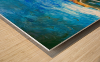 The Boardwalk v1 Wood print