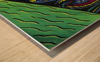 Lifelines Wood print