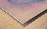 HIVER Wood print