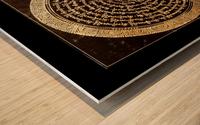 Nepali Goldwork: Serenity Wood print