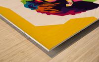 Liam Gallagher Wood print
