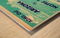 1941_College_Football_Arizona vs. Notre Dame_Notre Dame Stadium_South Bend_Row One Brand Wood print