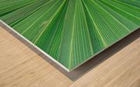 Leafy Green Wood print
