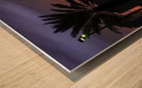 Night Vibes Wood print