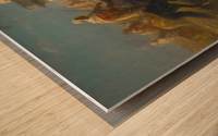 Der Fahnentrager Wood print