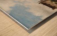Market view Wood print