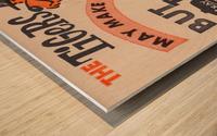 jefferson chevrolet detroit michigan car dealer auto sales ad vintage automobile sales advertising Wood print