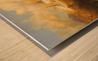 Alpiner Berggipfel Wood print
