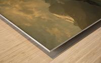 An einem Bergsee Wood print