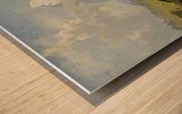 Blick von der Wengerenalp auf Eiger und Monch Wood print
