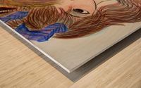 Dayfauncouplelove Wood print
