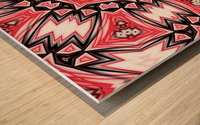 Abstract Art IV  Wood print