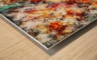 Afterburner Wood print