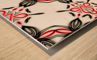 Abstract art II Wood print