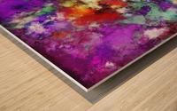 Kinetic Wood print