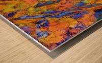 Landslip Wood print